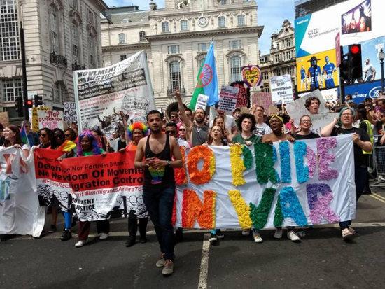 foto pride-mars Londen