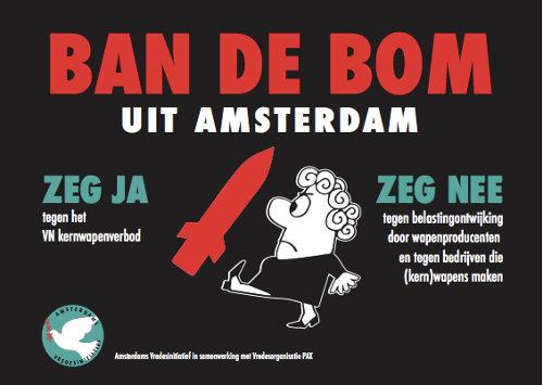 affiche Ban de Bom Amsterdam 2019