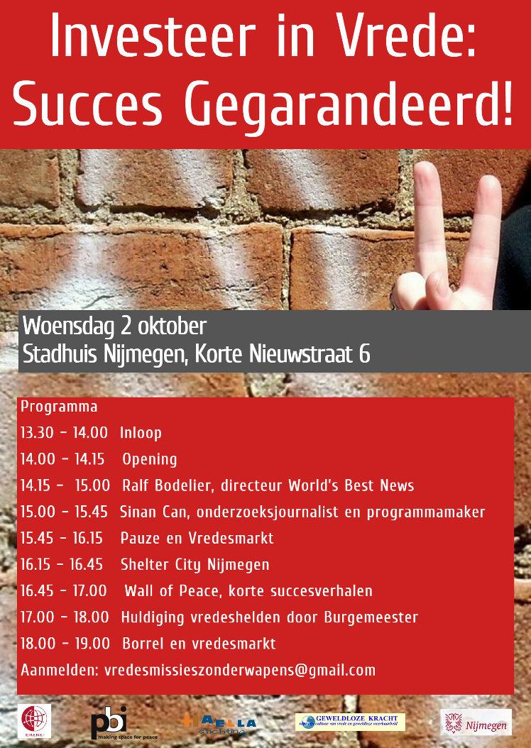 Programma Vredessymposium