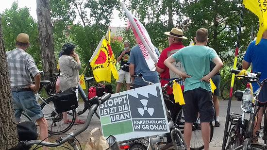 Foto demonstratie Gronau 2020