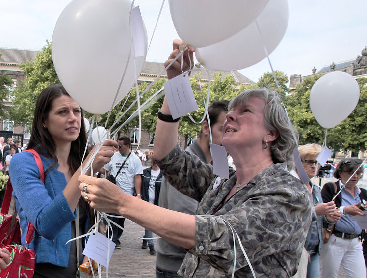 Srebrenica-herdenking 2013