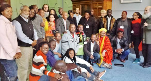 Deelnemers vanuit de hele wereld