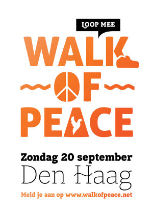 flyer Walk of Peace